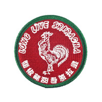 Sriracha Hot Sauce Patch