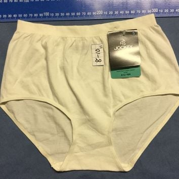 6 OR 12 Pack Jockey Womens Full Brief Fine soft Cotton underwear Size 6-20