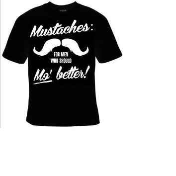 mustaches for men t shirt funny great cute gift tshirts