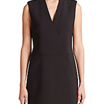 BCBGMAXAZRIA - Caryn Oversized Wrap Vest - Saks Fifth Avenue Mobile