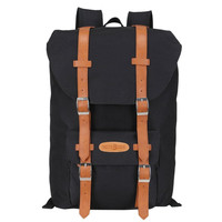 Leather College Backpack Ourdoor Daypack Laptop Travel Fashion Bag