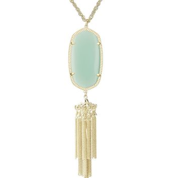Rayne Necklace in Chalcedony - Kendra Scott Jewelry
