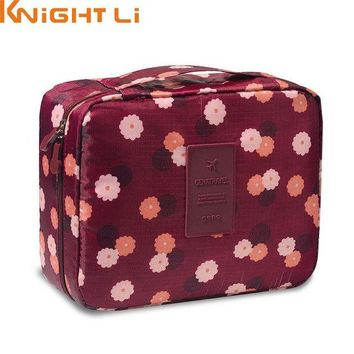 DCCKHG7 New Man Women Makeup bag Cosmetic bag beauty Case Make Up Organizer Toiletry bag kits Storage Travel Wash pouch