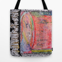#cashhaze  Tote Bag by Jennifer Pennacchio