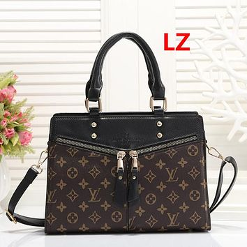 Women Fashion Leather Handbag Tote Satchel