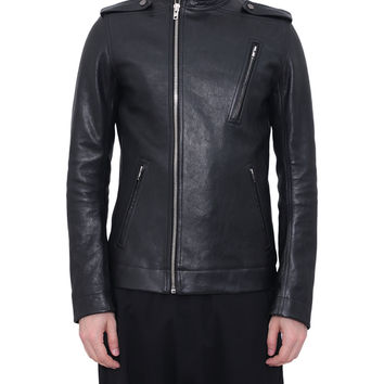 Rick Owens Leather Moody Biker jacket