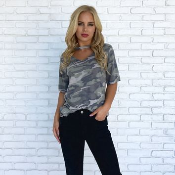 Can't Touch This Camo Tee