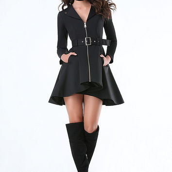Etta Hi-Lo Trench Coat