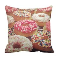 Home Decor DONUT PILLOWS-Bedroom Dorm Throw Pillow