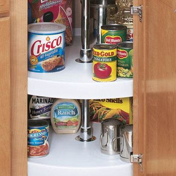 "Rev-A-Shelf 2-Shelf 28"" Full Circle Lazy Susan - Kitchen Organization - Storage & Organization - Storage & Display 