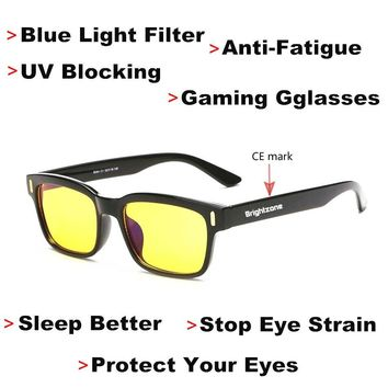 DYVision  Anti-Fatigue UV Blocking Blue Light Filter | Protect Your Eyes & Stop Eye Strain | Gaming Glasses