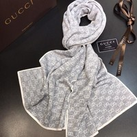One-nice™ GUCCI Women Cashmere Warm Winter Cape Scarf Scarves