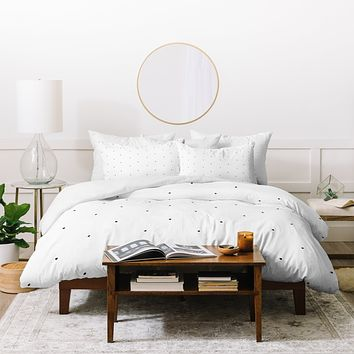 Social Proper Tiny Dot Duvet Cover