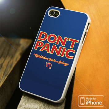 The Hitchhikers Guide to the Galaxy iPhone 4S 5S 5C SE 6S Plus Case