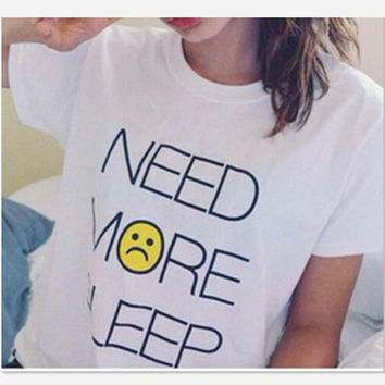 NEED Letters Printed short sleeve for women