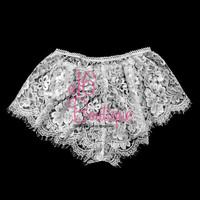 SALE - Thong, panties, lace lingerie, sexy underwear, bridal lace panties, bridal thongs, white panties, wedding underwear - P1