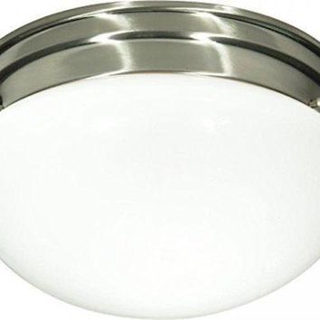 "Nuvo 76-603 - 10"" Close-To-Ceiling Flush Mount Ceiling Light"