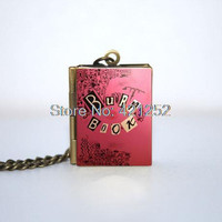 Mean Girls Burn Book Book Necklace