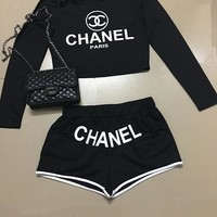Summer Women's Fashion Set Casual Shorts [41319923731]