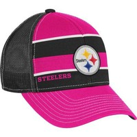 Reebok Pittsburgh Steelers Women's Breast Cancer Awareness Trucker Hat