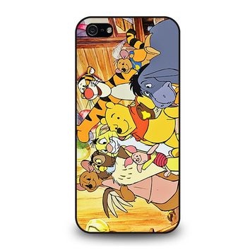WINNIE THE POOH AND FRIENDS Disney iPhone 5 / 5S / SE Case Cover