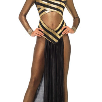 Golden Goddess Egyptian Costume