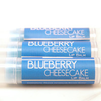 Blueberry Cheesecake Lip Balm  by SakuraBathAndBody on Etsy