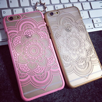 Lace Floral iPhone 5 5s iPhone 6 6s Plus Case Cover Free Shipping