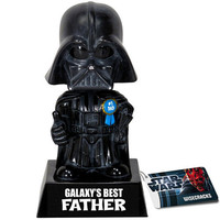 GALAXY'S BEST FATHER DARTH VADER BOBBLE HEAD from Funko
