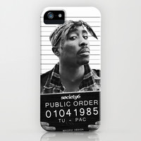 Public Order Tupac iPhone & iPod Case by Maioriz Home