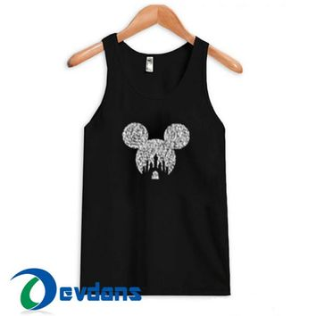 Disney Mickey Tank Top Men And Women Size S to 3XL
