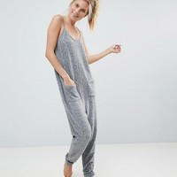 ASOS LOUNGE Super Soft Touch Jumpsuit at asos.com