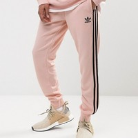 adidas Originals Superstar Cuffed Jogger In Pink BS4656 at asos.com