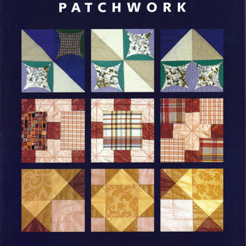 Book: Japanese Folded Patchwork - Folded Fabric Quilting