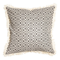 H&M Cushion Cover with Fringe $17.99