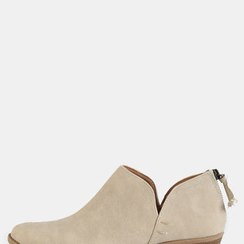 Solid Low Cut Ankle Booties STONE | MakeMeChic.COM