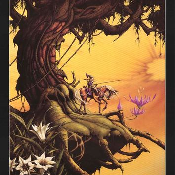 Rodney Matthews Illian of Garathorm Fantasy Art Poster 25x35