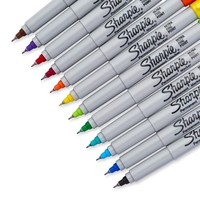 Sharpie® Ultra Fine Point Permanent Markers, Assorted, 12/pk (37172) | Staples