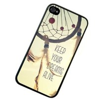 S9Y New Keep Your Dreams Alive Quote Plastic Hard Case Cover Back Skin For Apple iPhone 5 5G