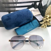 Gucci Fashion Women Men Personality Shades Eyeglasses Glasses Sunglasses