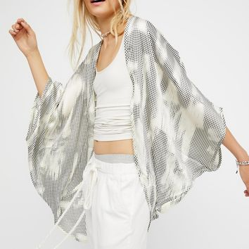 Free People Point Break Silky Kimono