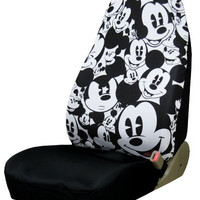 Plasticolor 006918R01 Mickey Mouse Expressions High Back Seat Cover