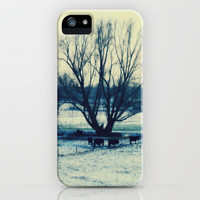 Winter, edited photography iPhone Case by JUSTART | Society6