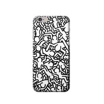 P1651 Keith Haring Art Case For IPHONE 6 Plus