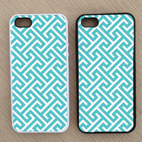 Cute Abstract Geometric Pattern iPhone Case, iPhone 5 Case, iPhone 4S Case, iPhone 4 Case - SKU: 151