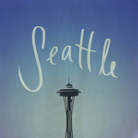 Seattle Art Print by Leah Flores | Society6