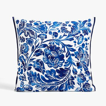 LARGE FLOWER PRINT PILLOWCASE - PILLOWCASES - BEDROOM | Zara Home United States of America