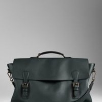 The Everyday Satchel in Grainy Leather