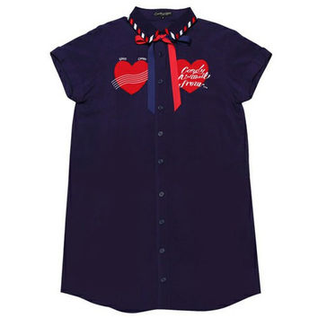 Heart Shirt Dress