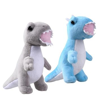 NUOLUX 2PCS Cute Cartoon Dinosaur Animal Plush Toys Stuffed Cushions Adorable Gift for Kids Children
